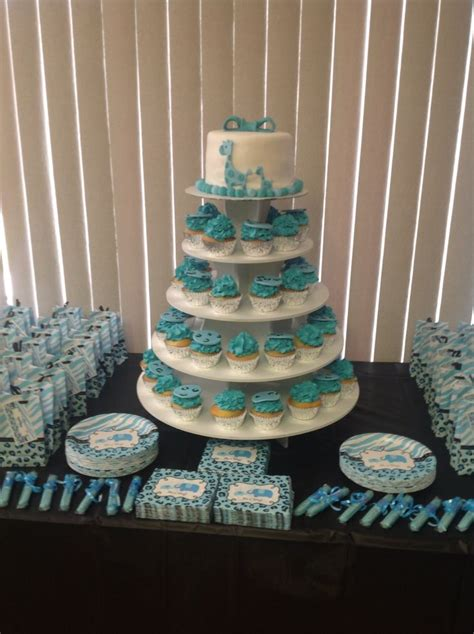 Blue Safari Baby Shower Decorations by Blue Safari Baby Shower Decorations Baby Shower