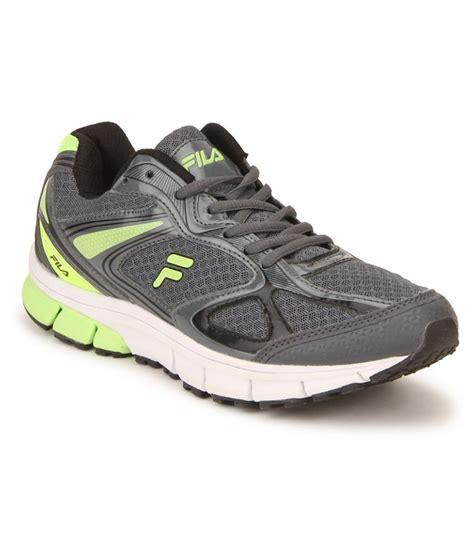fila running shoes india fila gray running shoes buy fila gray running shoes