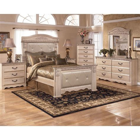 silverglade mansion bedroom set signature design by