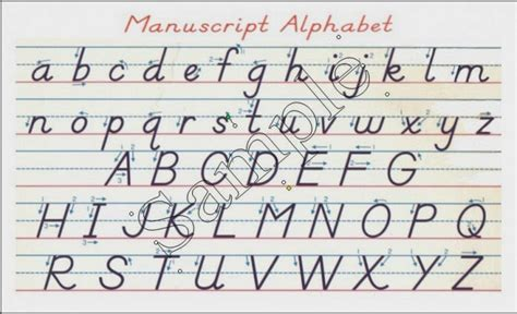 printable alphabet handwriting chart handwriting alphabet chart hand writing