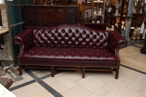 burgundy leather sofa set 1980s tufted burgundy chesterfield leather sofa and chair