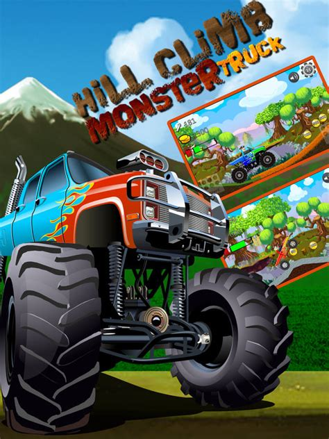 hill climb racing monster truck app shopper car truck hill racing monster mountain