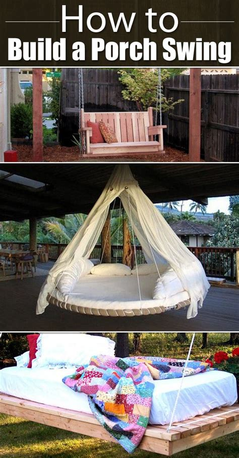 how to build a porch swing 25 best ideas about outdoor swings on pinterest patio