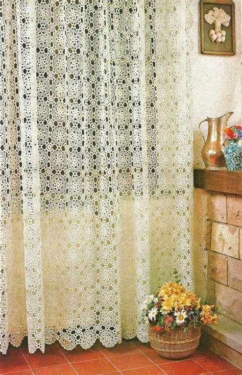 crochet curtains pattern 15 best ideas about crochet curtains on pinterest
