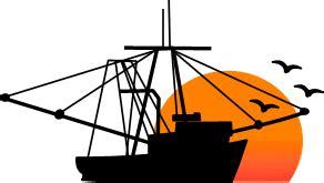 shrimp boat clip art brigitte vector art free clipart florida palms nature