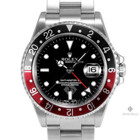 Jam Replika Rolex Gmt Master Ii Ss Black Bezel Swiss Eta 1 rolex gmt master ii stainless steel black black and for 9 700 for sale from a