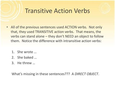 basic sentence pattern transitive verb ppt basic sentence patterns powerpoint presentation id