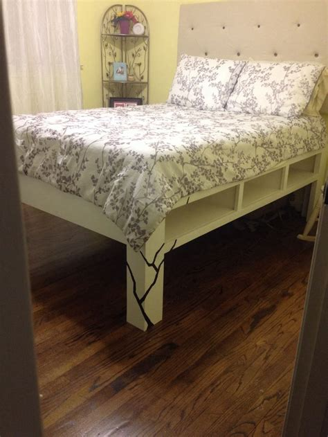 tall full size bed frame best 25 tall bed frame ideas on pinterest pallet