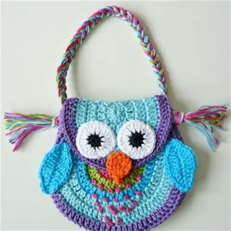 owl tote bag crochet pattern free teenyweenydesign crocheting like mad