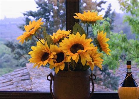 17 best images about tuscan floral on pinterest feathers sun flowers a red and the tuscan hillside by