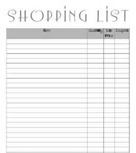 coupon list template 18 best images about coupon binder on