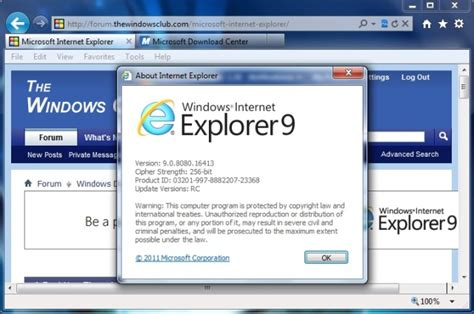 interne explorer 9 explorer 9 release candidate