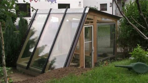 modern green house plans building a diy designer greenhouse in 5 minutes youtube