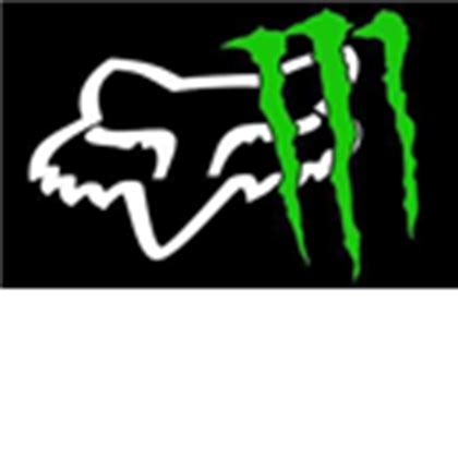 Monster Energy Sticker Wallpapers by Fox Racing Monster Energy Decal Sticker Energy Dri Roblox