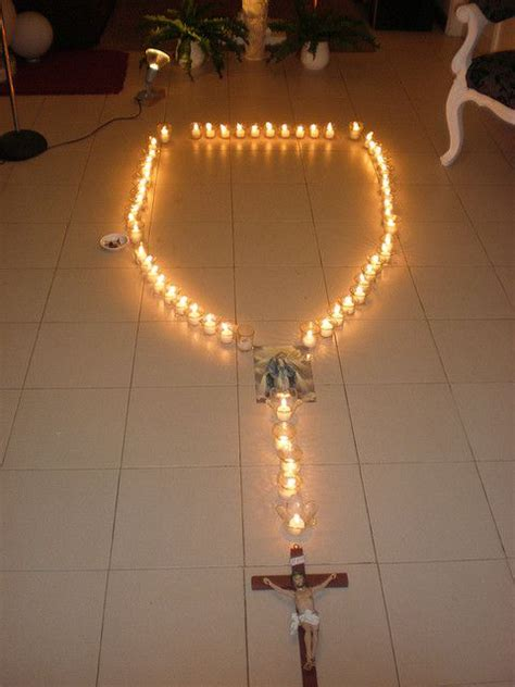 outdoor light up rosary candle rosary the would enjoy taking turns blowing