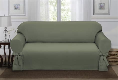 how to put a couch cover on sage green loden lucerne sofa slipcover couch cover sofa