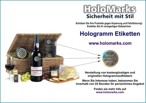 Hologramm Aufkleber Bestellen by Hologramm Aufkleber F 252 R Originalit 228 Tsschutz Bei Delikatessen