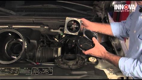 how to change mass air flow maf sensor 2002 ford f150