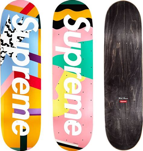 supreme skate supreme mendini skateboards original artwork by alessandro