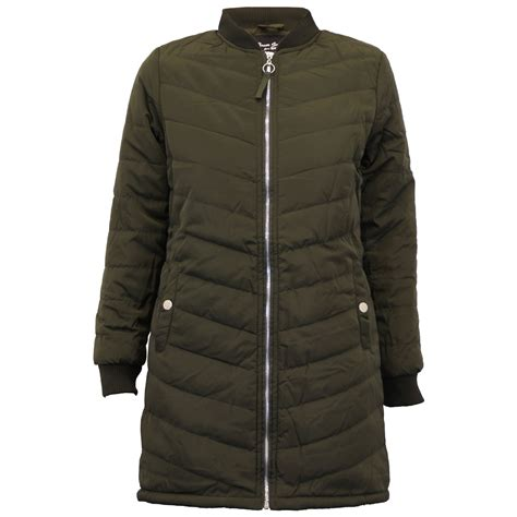 Seoul Blazer Jaket Coat jackets brave soul womens coat ma1 harrington padded quilted winter