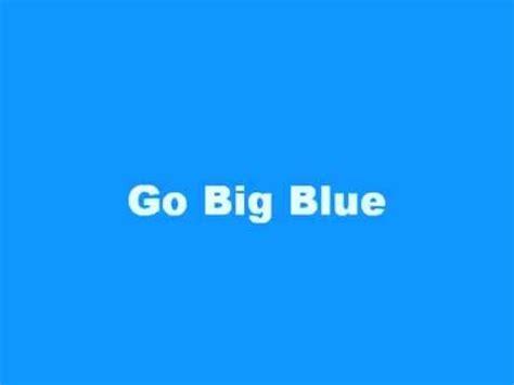 Big Blue by Go Big Blue