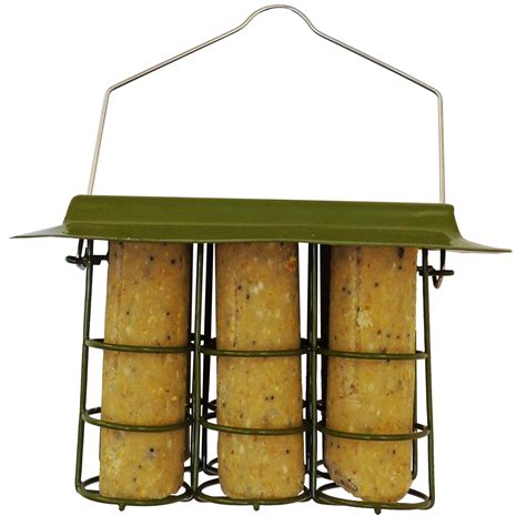 mini suet log feeder twootz com