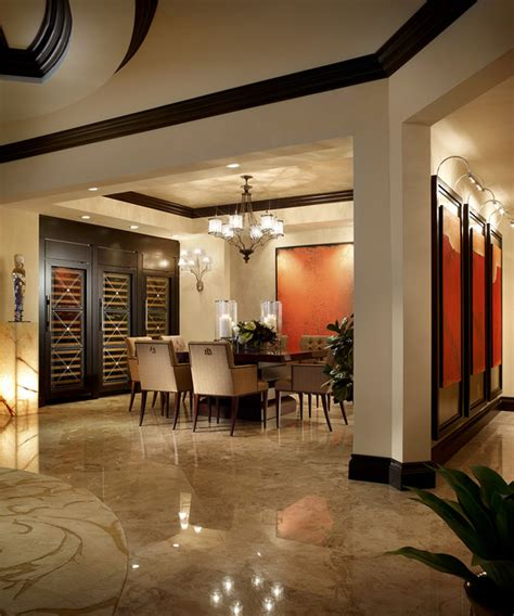 Modern Dining Room Miami Interior Design Residential Photography Contemporary