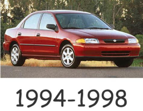 electric and cars manual 1998 mazda protege engine control mazda protege 1994 1998 service repair manual download download m