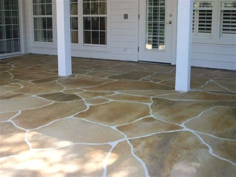 Poured Concrete Patio by Outdoor Concrete Patio Designs Poured Concrete Patio