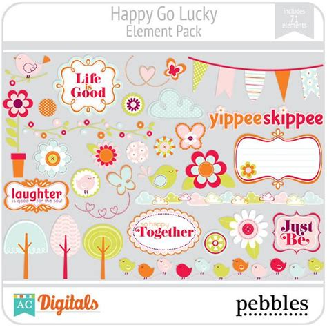 home go lucky happy go lucky element pack ac digitals