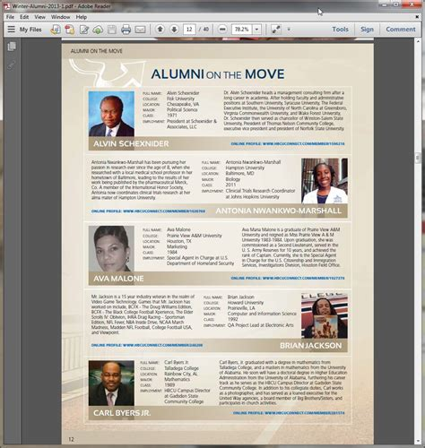 magazine biography exle be featured in hbcu connect magazine