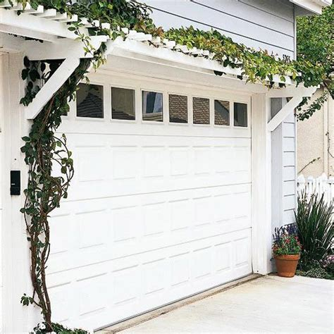 Garage Door Arbor by Pergola Yard Ideas