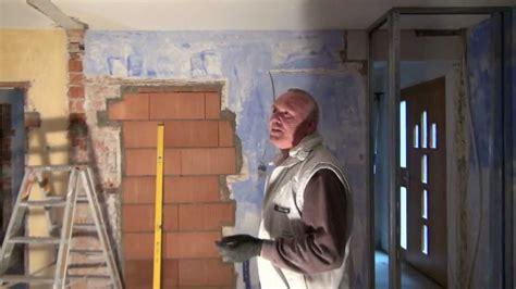 wanddurchbruch tragende wand vol 4 sanierung eines altbaus innenausbau im