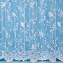 robyn bird design net curtain width sold by the metre