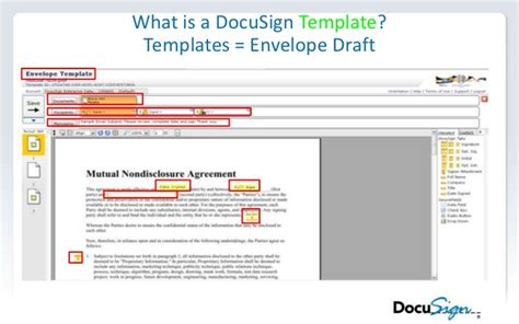 docusign templates esignature implementation webinar slides