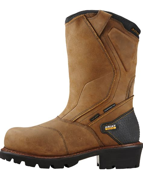 composite boots ariat s powerline composite toe insulated waterproof