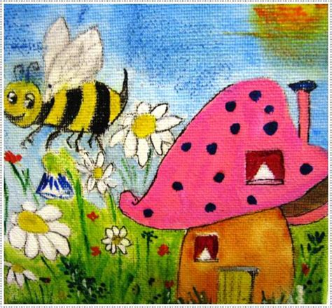 40 Awesome Canvas Painting Ideas For Kids Painting For Childrens