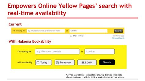 Lookup Yellow Pages Hakema Bookability For Yellow Pages Local Search