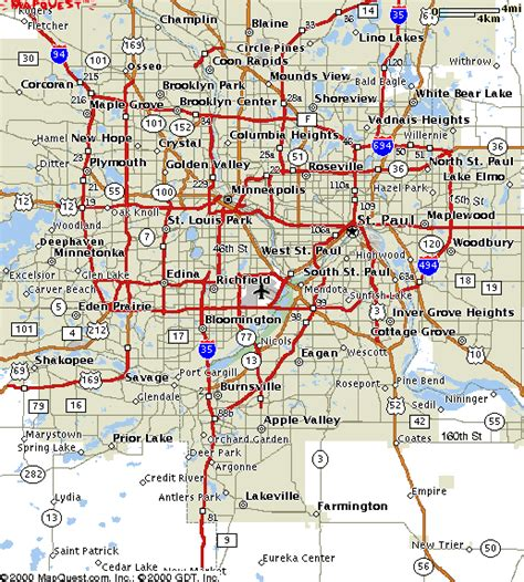 map of suburbs carleton college cities map