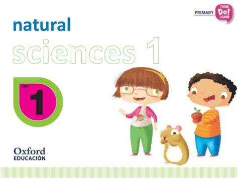 think do learn natural 8467384069 natural sciences primary 1 in spanish