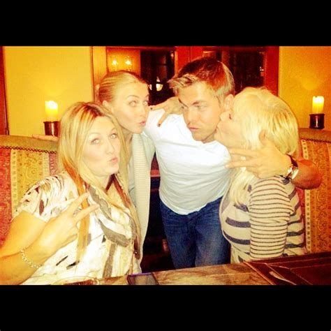 derek houghs sister sharee hough derek hough and boa on the set of cobu and other odds and