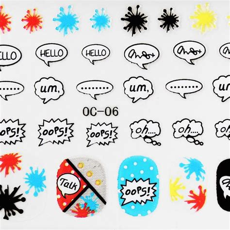 Nail Sticker Sticker Kuku 45 3d design nail sticker nail decoration us 1 45 sold out