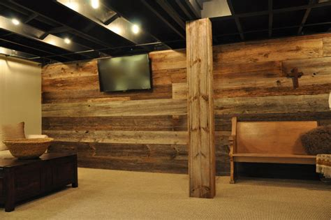 Remodel Small Bathroom Ideas by Modern And Rustic Rustic Basement Chicago By