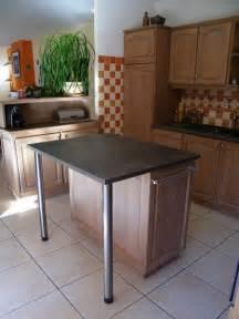 meuble ilot central cuisine relooking d une cuisine gr 226 ce 224 sa fa 231 ade c 233 rus 233 e