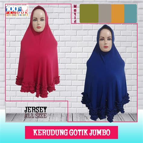 Bisnis Baju 5ribu bisnis kerudung gotik jumbo murah grosir baju murah 5ribu