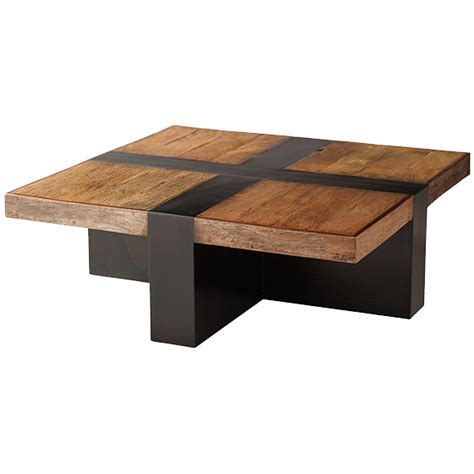 Modern Square Coffee Table Santos Square Coffee Table Dering