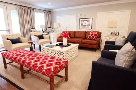houston interior designer marie flanigan living sorority house goes glam transitional living room