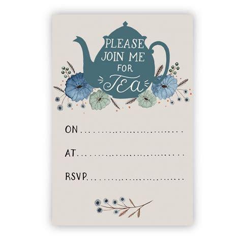 tea party invitation stock vector image of fashioned 34501966