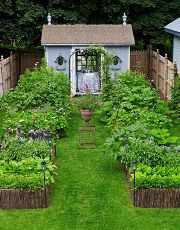 backyard vegetable garden design plans ideas
