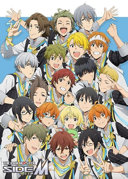 list of the idolmaster characters wikipedia the idolm ster sidem the idolm ster side m pictures